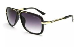 Canada Livraison gratuite mode luxe preuve de lunettes de soleil rétro vintage hommes marque designer brillant cadre en or laser logo femmes top qualité avec 2661 Offre