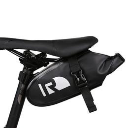 Argentina Roswheel impermeable bolsa de sillín de bicicleta accesorio de ciclismo asiento de sillín de bicicleta bolsa trasera impermeable luz de la cesta de bolsillo MTB Road Bike Bags supplier cycle seat bag Suministro