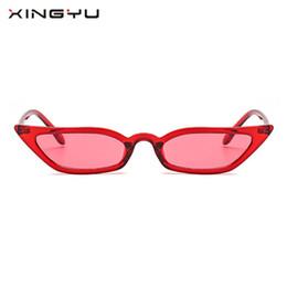 XINGYU New Women Cat Eye Vintage Sunglasses 2018 Brand Designer Retro Points  Sun Glasses superstar Female Lady Eyeglass Cateye bd1b15d997