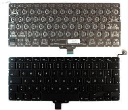 """Teclado para a1278 online-DHL / EMS ENVÍO GRATIS 20 UNIDS Alemán DE Keyboard para Macbook Pro 13 """"A1278 2009-2012"""