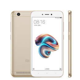 "Wholesale Xiaomi Android Qwerty - Original Xiaomi Redmi 5A 5 A 16GB ROM 2GB RAM Mobile Phone Snapdragon 425 Quad Core MIUI9 5.0"" 13.0MP Cell Phone Support 128GB MicroSD Card"