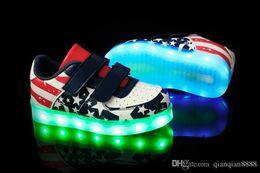 4858ee00f643 China 2018 NEW children s USB charging LED light shoes kids Nightclub dance  shoe boys and girls