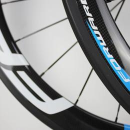 2019 ruota ffwd 38mm Vendita CALDA 50mm 700C ruote in carbonio del freno della bicicletta della strada ruote in carbonio copertoncino / tubolare ruote da strada ruote di bicicletta cinese basalto superficie