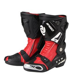 Motosiklet Ayakkabı Spor Motokros Bisiklet Uzun Çizmeler Off-Road Yarış Dişliler Moto AccessoriesParts EUR 40-45 Pro-Biker nereden