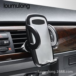 Wholesale universal air condition - Car Phone Holder Car Phone Mounts Bracket Air Conditioning Outlet Phone Bracket Universal Mobile Car Holder