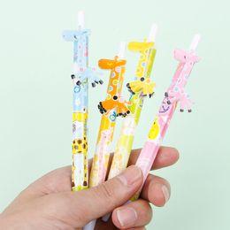 Cancelleria giraffa online-Kawaii Cartoon Penna a sfera Cute Creative Stationery School Forniture per ufficio Giraffe Penna a sfera per gli studenti di scrittura