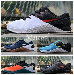 Wholesale Best Eur - 2018 Hot METCON 3 running shoes for mens sports shoe casual men trainers non-slip Athletic Best Brand runner sneakers size eur 40-44
