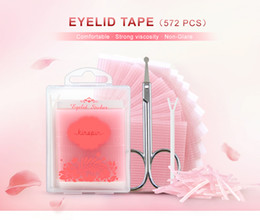 Wholesale Eyelid Strips - 572pcs Double Sides Eyelid Stickers Magic Stretch Fiber adhesive medical Eye Tape Strips for Natural-looking Creased Eyelid