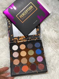 Wholesale fast drops - DROP SHIPPING New Eyeshadow Palette 16 Colors PERCEPTION Shayla X Colourpop Makeup shadow Palette Cosmetics fast dhl shipping