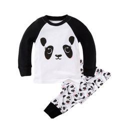 Wholesale Animal Pajama Suits - Long Sleeve Children 'S Pajamas Sets Cotton Christmas Pajamas For The Boys Sleepwear Pajama For Girls Clothing Set Suit For 2t -7t