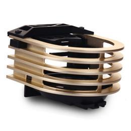 Wholesale Outlet Metal - Car metal cup holder,Air outlet beverage rack for vehicle:gold