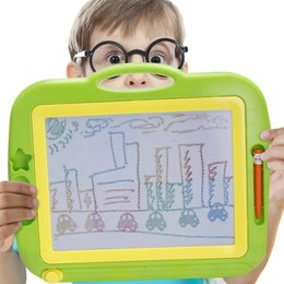 Wholesale Magnetic Writing Board Toy - Wholesale Sample, OBCANOE Magic Board Magnetic Board Erasable Toy Magical Drawing Painting with Magnetic Stamp for Kid's Writing and Drawing