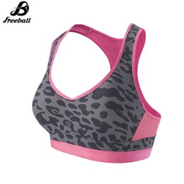 Wholesale Training Bra Sizes - Jimsports New Women Fitness Yoga Training Sports Bra For Running Gym Padded Have Rims Comfortable Brassiere Seamless Top Bras Sales