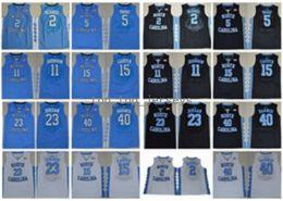 Wholesale berry men - North Carolina Tar Heels College Jerseys Basketball 2 Joel Berry II 5 Marcus Paige 15 Vince Carter 11 Brice Johnson 40 Harrison Barnes