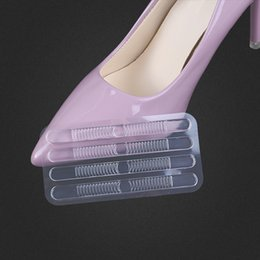 Wholesale c gel - GEL heel paste high heel stickers anti-wear clear thin strip paste shoes sandals grinding foot stickers