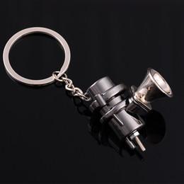 Tuning 3d online-Venta al por mayor Regalo creativo 3D Car Tuning Turbo Válvula de Alivio de Presión Llavero de Metal, Cintura de Publicidad Llavero Enlace de Cadena, envío Gratis