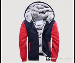 Lunga giacca di denim nera online-Giacche invernali Capispalla Cappotti Caldi Vintage spessi Uomo manica lunga Nero Designer Jacket Big Size S-5XL