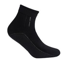 NUEVA 3.5mm Natación Calcetines de Buceo Traje de Neopreno Calcetines de Buceo  Zapatos de Agua Buceo de Playa Botas de Surf para Hombres Mujeres dive  boots ... c52c9599dce