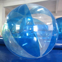 Wholesale Water Ball Rollers - Water Walking Roller Ball Birthday Party Zorbing Water Walking Balls Inflatable Walk On Water Ball
