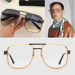 a5a3da5e0d287 O novo AAAAA Dapper Dan - 0428 marca de moda de luxo clássico esportivo  óculos de sol da melhor qualidade de metal homens e mulheres modelos UV400