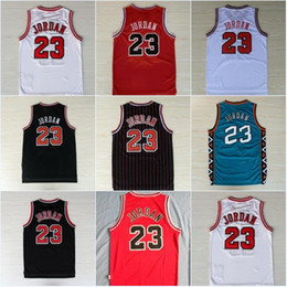 Wholesale mesh basketball shorts - Mens Mesh #23 Basketball Jerseys Cheap All Star Breathable Sports Jersey#23 Michael 1997-98 Top Quality new arrival Shirts