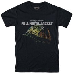FULL METAL JACKET T-shirt 1987 sweat-shirt Stanley Kubrick film de guerre 2018 Nouveau T-shirts Style Chinois T-Shirt Adulte Coton Drôle ? partir de fabricateur