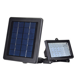 Wholesale Solar Warm White Flood Light - IP65 Waterproof Ultra Bright Led Solar 30 LED Outdoor Spot Flood Light Lawn Lamp Solar Flood lights Outdoor Landscape Lighting