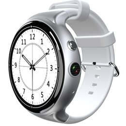 2019 telefono impermeabile della vigilanza 3g Orologio GPS di lusso Smart Watch IQI-I4 IP54 Impermeabile supporto per la frequenza cardiaca WIFI Supporto 3G Cellulare per Android 5.1 OS telefono impermeabile della vigilanza 3g economici