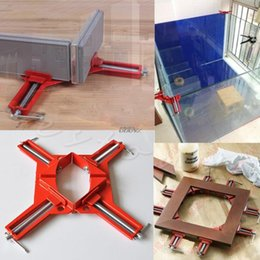 Wholesale Corner Kit - 1 PC 90 Degree Right Angle Picture Frame Corner Clamp Holder Woodworking Hand Kit N24 Drop Ship