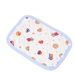 Wholesale Towel Carrier - 1 Pair Cotton Baby Teething Pad Bibs safety Sucking slobber Towel Straps Dedicated Carrier Saliva Bandana Drool Bibs