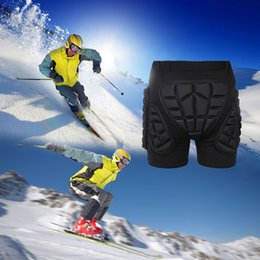 Wholesale roller protections - Sports Snowboarding Shorts Hip Protective Bottom Padded For Motorcycle Ski Roller Skate Snowboard Hip Protection Pad Gears