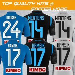 2018-19 INSIGNE Home Away Tercer jersey de fútbol Napoli Name Set Impreso  HAMSIK MERTENS Kits de ropa de fútbol Maillot Camisetas deportivas. b5d6b27932132