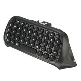 Argentina 47 Teclas Mini Teclado inalámbrico Teclado de teclado para XBOX ONE Game Controller Teclado inalámbrico 2.4G USB Negro / Blanco supplier xbox chatpad Suministro