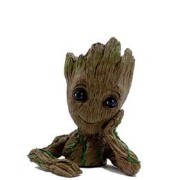 Guardiani di The Galaxy Vol. Di alta qualità e design nuovo 2 Baby Groot Figure Flowerpot Style Vaso giocattolo regalo decorazione della casa da
