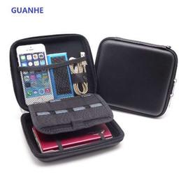 Caso para 2ds online-GUANHE a prueba de agua Carry Case Power Bank Phone USB Phone Protege unidad de disco duro Disco de disco para NINTENDO 2DS