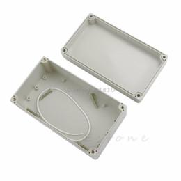 2019 fujitsu hard disks 158x90x60mm À Prova D 'Água de Plástico Projeto Eletrônico Box Cover Box CASE navio da gota