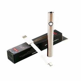 E cigarette clone en Ligne-Amigo Max Vape Stylo 380mah VV Préchauffer 510 Thread Batterie E Cigarettes Vape Avec Chargeur USB Pour Brassons Knuckles Clone