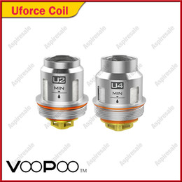 núcleo t2 Rebajas Auténtico Voopoo Uforce bobina U2 U4 bobinas de repuesto para Kits TOO Original T1 tanque 100% genuino