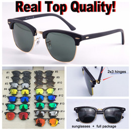 gafas de sol de forma redonda al por mayor Rebajas gafas de sol de marca de calidad superior del club de marca, oclos marco de acetato real marco de material lentes de protección uv400 gafas de sol retros con paquetes