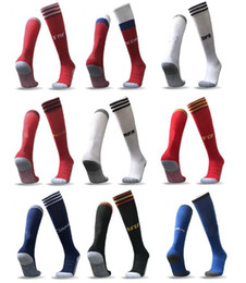 Wholesale Kids Knee Socks - World Cup 2018 socks adults kid Argentina Belgium Calcetine germany Colombia Mexico Japan Sweden Socken Spain Meias 17 18 Chaussettes
