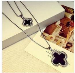 Wholesale Long Crystal Necklace Swarovski - Austrian Crystal Diamonds Love Heart Long Sweater Statement Necklace Snowflake Rhinestone Necklace Swarovski Elements Women Pendant necklace