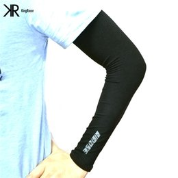 Wholesale Bike Ice - Unisex Ice Silk Arm Sleeve UV Sunscreen In The Summer All Cars Motorcycles Bikes Outdoor Sports Essential