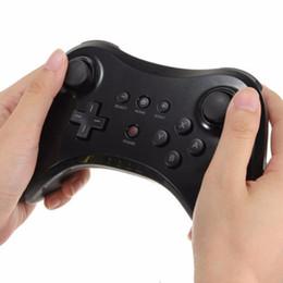 Novo sem fio bluetooth gamepad para nintendo wii u pro game controller joystick wiiu console remoto clássico dual analógico joypad branco de