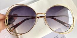 Design redondo de embalagens on-line-Moda de luxo CL2138 Óculos De Sol Para As Mulheres Deisnger Rodada Moldura Completa UV400 Lente Estilo Verão Moldura Quadrada Design Clássico Vem Com Pacote