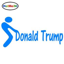 K adesivos on-line-Estilo do carro por atacado F ** K Donald Trump Vinil Decalque Parafuso Para Presidente Campanha Adesivos de Carro Decalques de Carro