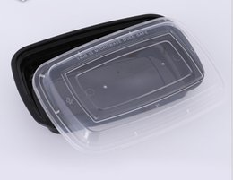 Wholesale Lunch Storage - American Style Disposable Food Storage Containers Safe Healthy Food Storage Box Microwave Convenient Lunch Box LLFA