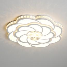 Plafoniera moderna a soffitto in cristallo Luminaria Tech Plafoniera a soffitto a soffitto in Lampara a LED da