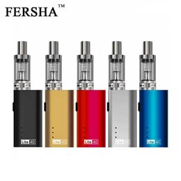 Wholesale electronic cigarette quit smoking - FERSHA Electronic Cigarette Lite-40W Large Smoke 5 Colors 2200mha Player Essentials Quit Smoking Artifact