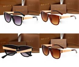 Barato de lujo gafas de sol de plástico marca de moda para mujer gafas cuadradas de sol acetato acetato marco de oro gafas de sol gradiente G3718 desde fabricantes
