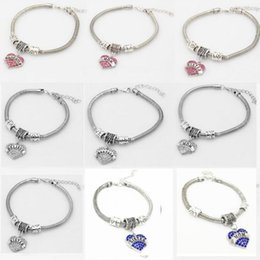 hope believe love charms Coupons - 21 types Diamond love Heart bracelet crystal family member Mom Daughter Grandma Believe Faith Hope best friend wristband for women